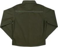 ShopperTree Boys Solid Casual Black Shirt