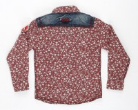 Noddy Boys Printed Casual Red Shirt