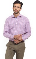 I-Voc Mens Checkered Formal Pink, Blue Shirt