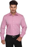 Blacksmith Mens Harringbone Formal Pink Shirt