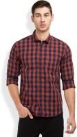 Highlander Men's Checkered Casual Regular Shirt