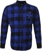Lumber Boy Boys Printed Party Blue Shirt