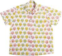 NeedyBee Baby Boys Printed Casual Multicolor Shirt