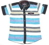 Empire Apparels Boys Striped Casual Shirt