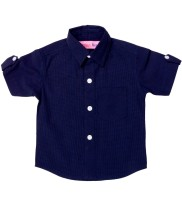 Always Kids Boys Checkered Casual Multicolor Shirt