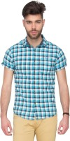 Mufti Mens Checkered Casual Multicolor Shirt