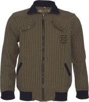 Lumber Boy Boys Self Design Casual Beige Shirt