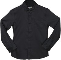 Poppers by Pantaloons Girls Solid Casual Black Shirt