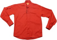 Little Man Boys Solid Casual Red Shirt