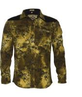 Lumber Boy Boys Printed Casual Gold Shirt