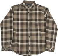 Indian Terrain Boys Checkered Casual Grey Shirt