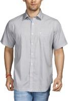 Raymond Men Printed Casual Blue Shirt