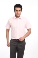 Raymond Men Solid Formal Red Shirt