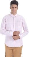 Zobello Mens Checkered Casual Multicolor Shirt