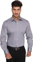 Blacksmith Mens Harringbone Formal Grey Shirt