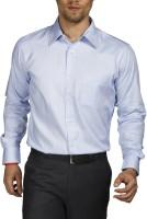Raymond Men Printed Formal Blue Shirt