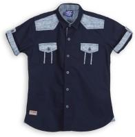 Lilliput Boys Solid Casual Shirt