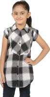 Eves Pret A Porter Girls Checkered Casual Shirt
