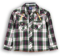 Lilliput Boys Checkered Casual Multicolor Shirt