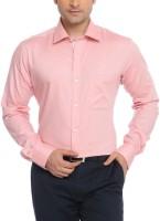 Raymond Men Solid Formal Pink Shirt