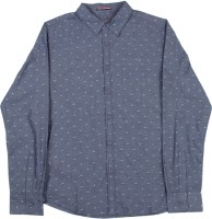 Allen Solly Junior Boys Self Design Casual Grey Shirt