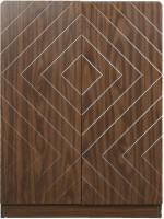 Parin Engineered Wood Shoe Rack(Brown, 5 Shelves)