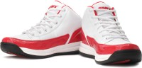 Sparx SM-BB02 Basketball Shoes For Men(Red, White)