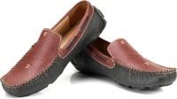 TZARO Atlas Loafers For Men(Burgundy, Grey)