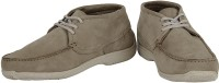 Woodland Solid Casual Shoes(Khaki)