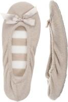 Dearfoams Ballerina Party Wear Shoes For Women(Grey)