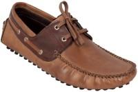 Ztoez Brown Loafers For Men(Brown)