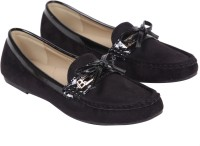 iLO Stylish Loafers For Women(Black)