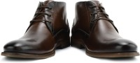 Steve Madden Toffeee Lace Up Shoes For Men(Brown)