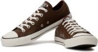 Converse Sneakers For Men(White, Brown)