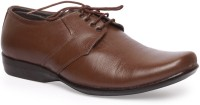 Leather King Johny Brown Lace Up For Men(Brown)