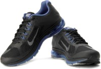 Nike Air Max Excellerate+ 2 Running Shoes For Men(Black, Silver, Blue)