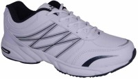 Action 3g374 Running Shoes For Men(Silver, White)