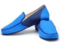 Funk Gerry Blue Canvas Shoes For Men(Blue)