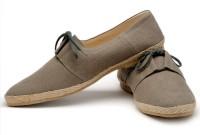 Funk Han Beige Canvas Shoes For Men(Beige)