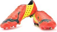 Puma Evopower 1 Fg Men Football Shoes For Men(Orange)