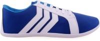 Shoe Striker Stripes Blue Canvas Shoes For Men(Blue)