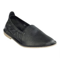 Shoe Bazar Leather Casual Shoes For Men(Black)