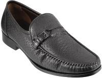 Metro Da Vinchi Monk Strap Shoes(Black)