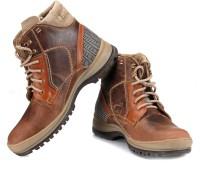 TZARO Tank Boots For Men(Tan, Brown)