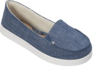 Dearfoams Cambray (Blue) Moccasin with Gore Small Loafers, Casuals, Corporate Casuals(Blue)