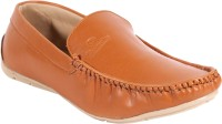 QUARKS Loafers For Men(Tan)