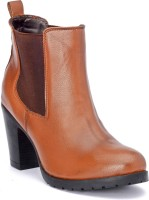 Bruno Manetti M-Jd-150 Boots For Women(Tan)