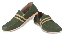 Funk Footer Loafers For Men(Green)