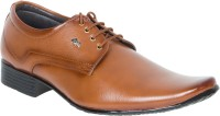 Wings Lace Up Shoes For Men(Tan)