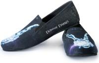 Funk Donnie Darko Printed Loafers For Men(Blue, Black)